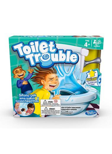 Hasbro Hasbro Toilet Trouble Kutu Oyunu Renkli